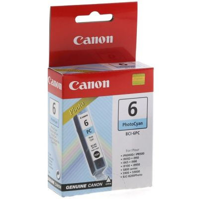 Картридж Canon BCI-6 PC Blue/Голубой (4709A002)