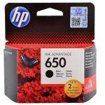 Картридж HP 650 Black/Черный (CZ101AE)