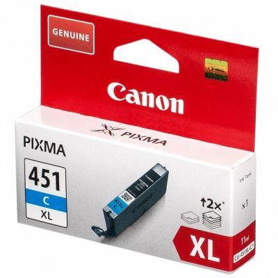Картридж Canon CLI-451 C XL Cyan/Голубой (6473B001)