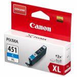 ��������� �������� Canon �������� ���������� Canon CLI-451 C XL (cyan) (���������� �������) 6473B001