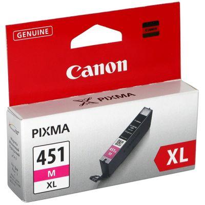 ��������� �������� Canon �������� ���������� Canon CLI-451 M XL (magenta) (���������� �������) 6474B001