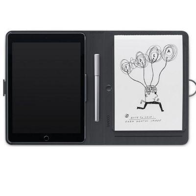 Чехол Wacom Cover Bamboo Spark, snap-fit для iPad Air CDS-600C