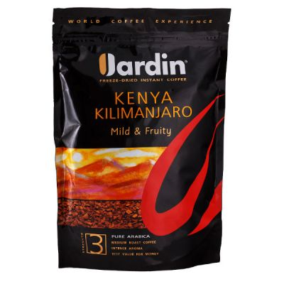 Кофе Jardin Кения Килиманджаро (150г, растворимый сублимированный, в мягкой упаковке) 1018-14