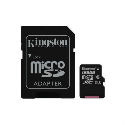 Карта памяти Kingston 128GB microSDXC Class 10 SDC10G2/128GB