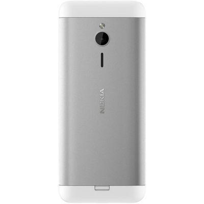 Телефон Nokia 230 Dual Sim White Silver A00026972