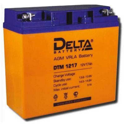 Аккумулятор Delta DTM 1217 (12 В, 17 Ач)