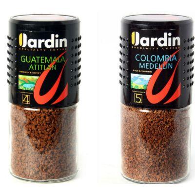 Кофе Jardin промо Колумбия Меделлин 95г.ст/б+ Гватемала Атитлан 95г.ст/б раст.субл 1111-08