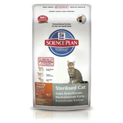 Сухой корм Hills для стерилизованных кошек от 6 мес до 6 лет 1,5кг (9351EA)