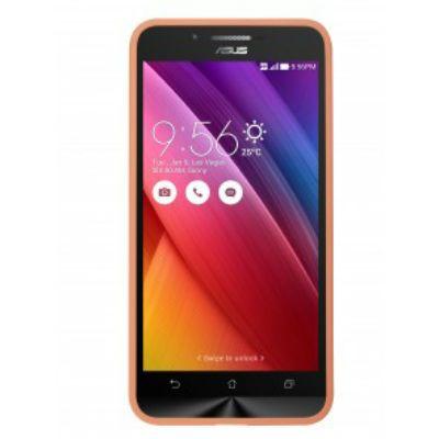 ASUS Бампер для Asus ZenFone GO ZC500TG PF-01 оранжевый 90XB00RA-BSL3R0