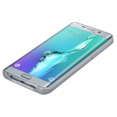 Чехол Samsung аккумулятор для Samsung Galaxy S6 Edge Plus EP-TG928 серебристый EP-TG928BSRGRU