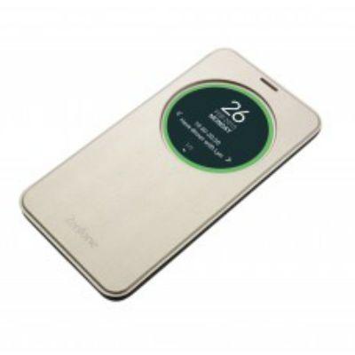 Чехол ASUS (флип-кейс) для ZenFone ZE551ML Delux золотистый 90AC00F0-BCV039
