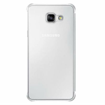 Чехол Samsung (клип-кейс) для Samsung Galaxy A7 (6) Clear View Cover серый EF-ZA710CSEGRU