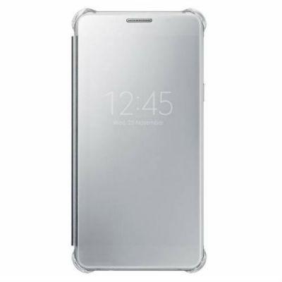 Чехол Samsung (клип-кейс) для Samsung Galaxy A5 (2016) Clear View Cover серый EF-ZA510CSEGRU