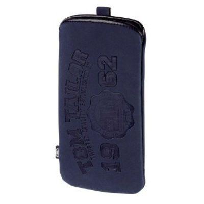 Чехол Hama Tom Tailor для мобильных телефонов Soft Pouch синий 00122613