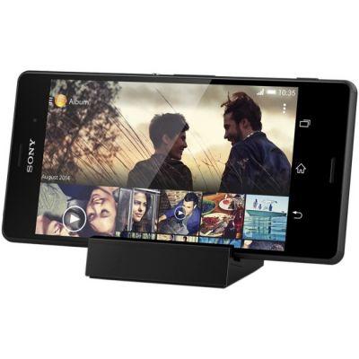Док-станция Sony DK48 Black (черная подставка для зарядки Xperia Z3 и Z3 compact с магнитным разъемом)
