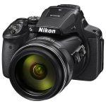 Компактный фотоаппарат Nikon CoolPix P900 (черный) VNA750E1