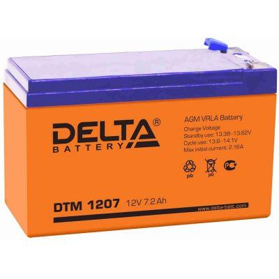 Аккумулятор Delta DTM 1207 (12 В, 7,2 Ач)