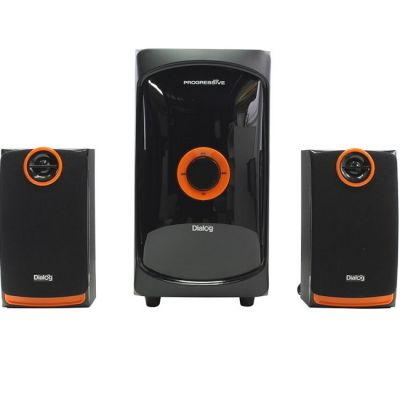 Колонки Dialog Progressive AP-200 BLACK - 2.1, 30W+2*15W RMS, USB+SD reader
