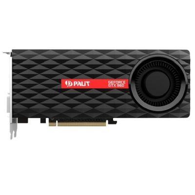 ���������� Palit PCI-E PA-GTX960 nVidia GeForce GTX 960 4096Mb 128bit GDDR5 1127/7000 DVIx2/HDMIx1/DPx1/HDCP Ret NE5X960010G1-2061F