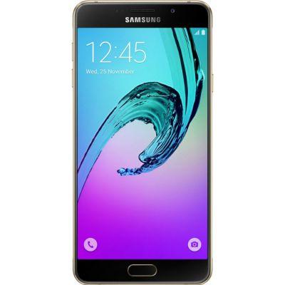 Смартфон Samsung Galaxy A7 (2016) SM-A710 16Gb Gold SM-A710FZDDSER