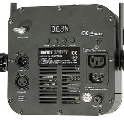 Involight Светодиодный RGBWA+UV прожектор SLIMPAR56PRO