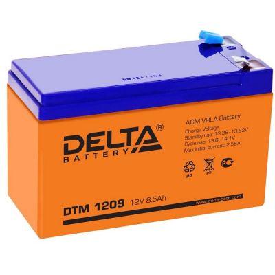 Аккумулятор Delta DTM 1209 (12v 8.5Ah)