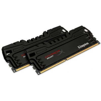 Оперативная память Kingston Kit2 DDR3 16Gb 2400MHz pc-19200 HX324C11T3K2/16