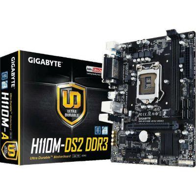 Материнская плата Gigabyte GA-H110M-DS2 DDR3