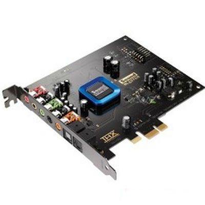 Звуковая карта Creative Recon3D (SB1350) PCIe-1X w/o driver OEM 24-bit 96kHz, 5.1 ch, SNR 102dB, opt. SPDIF I/O EAX ADVANCED 30SB135900001