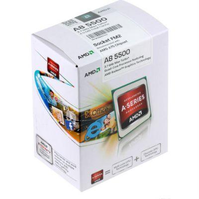 Процессор AMD A8 5500 BOX (AD5500OKHJBOX)