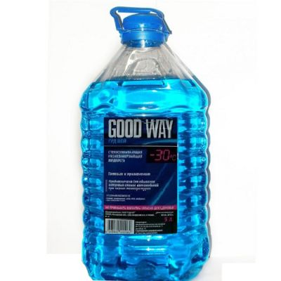 Good Way Стеклоомывающая низкозамерзающая жидкость 5л (-30)