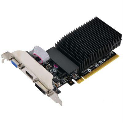 ���������� Inno3D 1Gb <PCI-E> G210 c CUDA <GFG210, GDDR3, 64 bit, HDCP, DVI, HDMI, Low Profile, Retail> N210-3SDV-D3BX