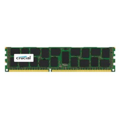 Оперативная память Crucial DDR3 16Gb (pc-12800) 1600MHz ECC Reg CL11 Dual Rank CT204872BB160B