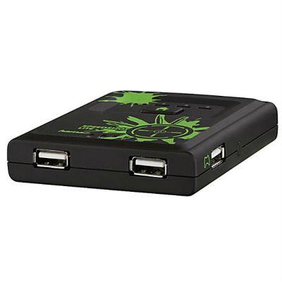 Hama Переключатель H-115510 Speedshot Lite мышь/клавиатура для Xbox 360 USB Plug&Play черный 115510