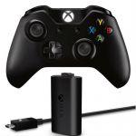 Microsoft Беспроводной контроллер Wireless Controller (+ зарядное устройство) для Xbox One EX7-00007