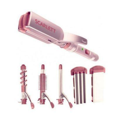 Щипцы Scarlett SC-065 (розовый) 35Вт