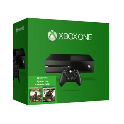 ������� ��������� Microsoft Xbox One 500 �� + ���� Ryse Legendary � Deadrising 3 ApclypsEdtn 5C5-00015-RD