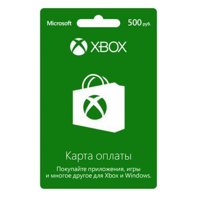 Microsoft ����� ������ ��� ���� Xbox LIVE 500 ������ K4W-03073