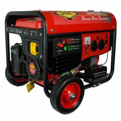 Генератор DDE газ/бензин DPPG2801Е