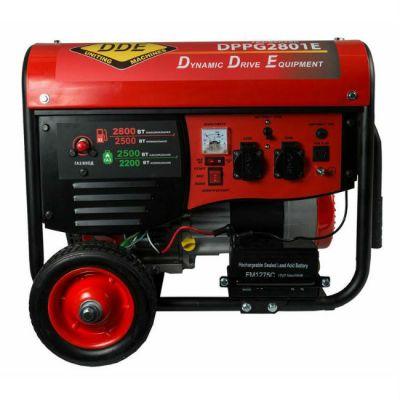Генератор DDE газ/бензин DPPG5801E