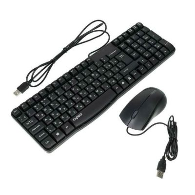 Комплект Rapoo Клавиатура + мышь N1850