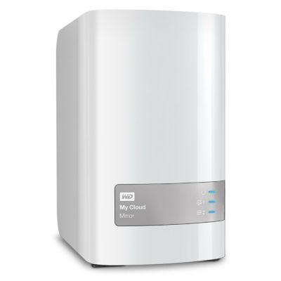 Сетевое хранилище Western Digital NAS Original 4Tb WDBZVM0040JWT-EESN