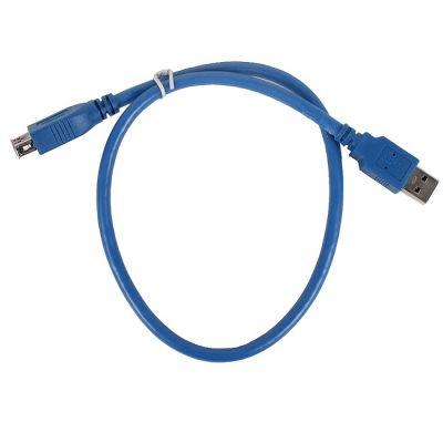Кабель Vcom удлинитель USB3.0 Am-Af 0.5m (VUS7065-0.5M)
