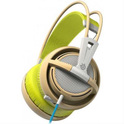 Наушники с микрофоном SteelSeries Siberia 200 Gaia Green 51137
