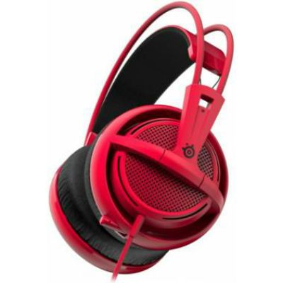 �������� � ���������� SteelSeries Siberia 200 Forged Red 51135