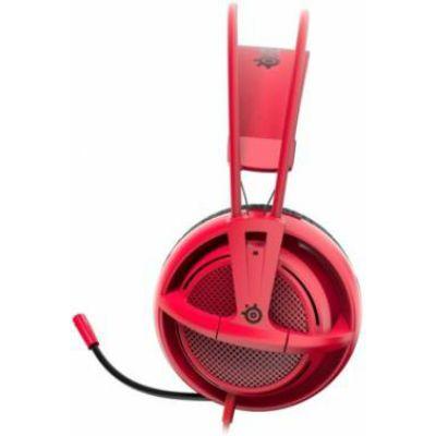 Наушники с микрофоном SteelSeries Siberia 200 Forged Red 51135