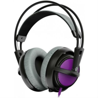 Наушники с микрофоном SteelSeries Siberia 200 Sakura Purple 51136