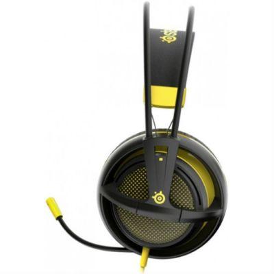 Наушники с микрофоном SteelSeries Siberia 200 Proton Yellow 51138