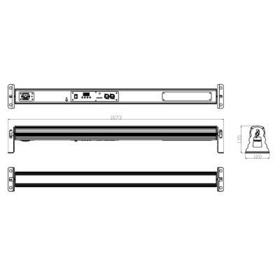 Involight Аккумуляторная всепогодная светодиодная панель BATBAR230