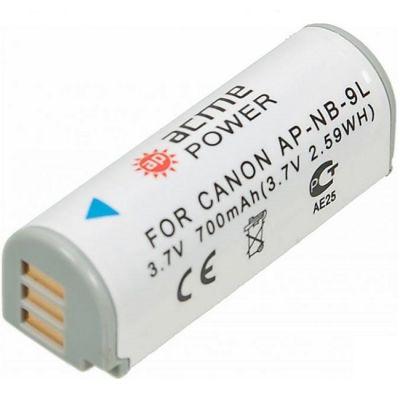 Аккумулятор AcmePower для Canon 700mAh 3.7V Li-Ion AP-NB-9L